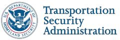 tsa logo for airport security